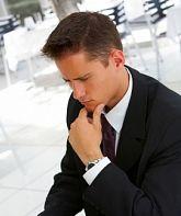 Businessman at an airport restaurent